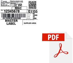 barcode400 label to pdf